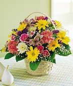 Finland Flower Finland Florist  Finland  Flowers shop Finland flower delivery online  :Mixed Cheerful Flowers