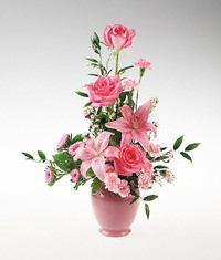 Z-Other Country Flowers Z-Other Country flower Z-Other Country florists :Pink flower arrangement