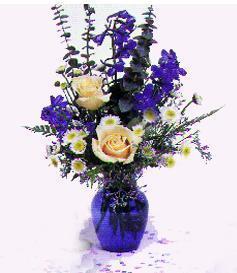 1st Blue arrangement