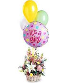 Trinidad and Tobago New Baby Trinidad and Tobago,Other State:Baby Girl Bouquet