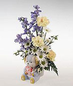 Finland New Baby Finland,:Novelty arrangement for a baby boy.
