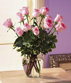 Suriname Flower Suriname Florist  Suriname  Flowers shop Suriname flower delivery online :New Baby Pink Roses Bouquet