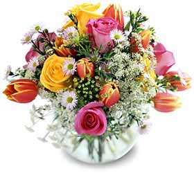 Montreal mother's day Montreal,Québec,:Springtime Jubilee Bouquet