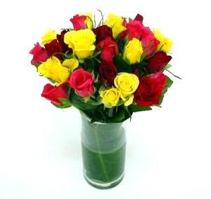 Livraison Fleurs Australie fleuriste Australie,fleurs de Australie Livraison fleurs Australie:LocalStreets:GLASS VASE BOUQUET