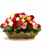 Australia Baskets Australia,,:MIXED ROSE BASKET