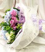 fleurs Singapour Livraison fleurs Singapour achat fleurs Singapour fleuriste Singapour en ligne, :Pretty In Blue