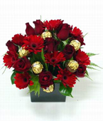 New Zealand Flower New Zealand Florist  New Zealand  Flowers shop New Zealand flower delivery online  :SCRUMPTIOUS RED