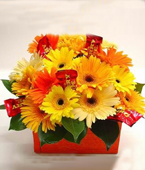 New Zealand Flower New Zealand Florist  New Zealand  Flowers shop New Zealand flower delivery online  :CHERRY BOX