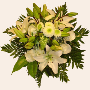Portugal Flower Portugal Florist  Portugal  Flowers shop Portugal flower delivery online  :Purity Bouquet (Normal)