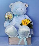 HK New Baby HK,:My First Blue Teddy Bear