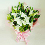 Vietnam Flower Vietnam Florist  Vietnam  Flowers shop Vietnam flower delivery online  :White lilies