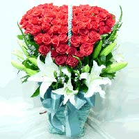 S.Korea Flower S.Korea Florist  S.Korea  Flowers shop S.Korea flower delivery online  ,S.Korea:Love Basket-15