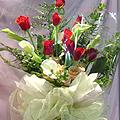 S.Korea Bouquet S.Korea,,S.Korea:Pink & Red Rose Bouquet