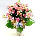 S.Korea Bouquet S.Korea,,S.Korea:Rose Vase