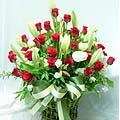 S.Korea Arrangement (Basket) S.Korea,,S.Korea:Rose+Lily Basket