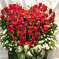 S.Korea Flower S.Korea Florist  S.Korea  Flowers shop S.Korea flower delivery online  ,S.Korea:100 Roses Basket2