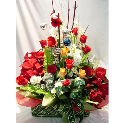 Livraison Fleurs Corée du Sud fleuriste Corée du Sud,fleurs de Corée du Sud Livraison fleurs Corée du Sud:LocalStreets:Christmas Basket-ad