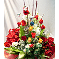 S.Korea Flower S.Korea Florist  S.Korea  Flowers shop S.Korea flower delivery online  ,S.Korea:Christmas Basket-ad