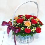 S.Korea Flower S.Korea Florist  S.Korea  Flowers shop S.Korea flower delivery online  ,S.Korea:Basket-kk12