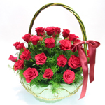 S.Korea Flower S.Korea Florist  S.Korea  Flowers shop S.Korea flower delivery online  ,S.Korea:Rose Basket-k11
