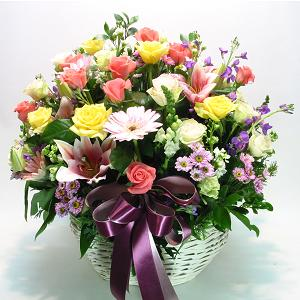 S.Korea Flower S.Korea Florist  S.Korea  Flowers shop S.Korea flower delivery online  ,S.Korea:Basket-k3