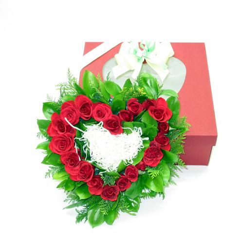 S.Korea Flower Box S.Korea,,S.Korea:Heart Box