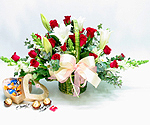 S.Korea Flower S.Korea Florist  S.Korea  Flowers shop S.Korea flower delivery online  ,S.Korea:Chocolate Basket-9