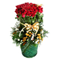 S.Korea X-MAS S.Korea,,S.Korea:100 Roses Basket-10
