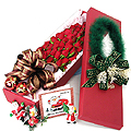 S.Korea Flower S.Korea Florist  S.Korea  Flowers shop S.Korea flower delivery online  ,S.Korea:Christmas Rose Box-1