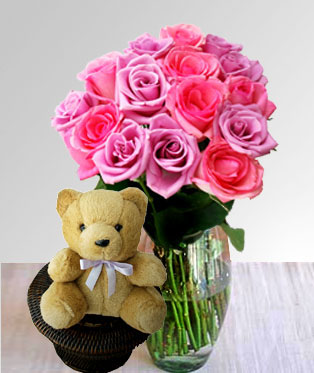 Philippines Flower Philippines Florist  Philippines  Flowers shop Philippines flower delivery online  :Sugar N Spice Cuddle
