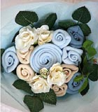 Philippines New Born Philippines,:Baby Bouquet- Blue