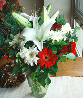 Philippines Flower Philippines Florist  Philippines  Flowers shop Philippines flower delivery online  :Magical Christmas