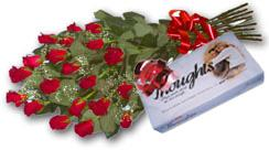 South Africa Flower South Africa Florist  South Africa  Flowers shop South Africa flower delivery online  ,South Africa:Red Rose Bouquet & Chocolates