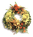 Turkey Funeral Turkey,:Wreath -funeral cerenomy flower