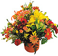 Turkey Flower Turkey Florist  Turkey  Flowers shop Turkey flower delivery online  :Mixed arrangement in basket