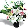 Livraison Fleurs Turquie fleuriste Turquie,fleurs de Turquie Livraison fleurs Turquie:LocalStreets:Casblanca and gerberas in ceramic vase