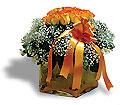 Livraison Fleurs Turquie fleuriste Turquie,fleurs de Turquie Livraison fleurs Turquie:LocalStreets:Orange roses in glass vase
