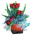 Turkey Flower Turkey Florist  Turkey  Flowers shop Turkey flower delivery online  :Red roses group arrangement in glass pot