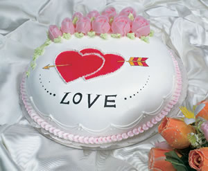 China Flower China Florist  China  Flowers shop China flower delivery online  ,China:Cake with Love