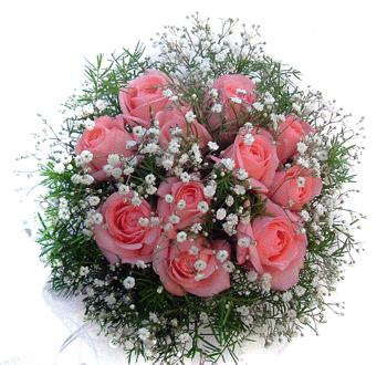 Ukraine Bouquet/Composition Ukraine,:Baby Pink