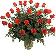 Ukraine Roses Ukraine,:Composition of 21 Long-Stem Roses surrounded by greenery!