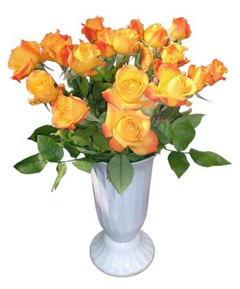 Ukraine Flower Ukraine Florist  Ukraine  Flowers shop Ukraine flower delivery online  :Baby Peach Roses in a Vase