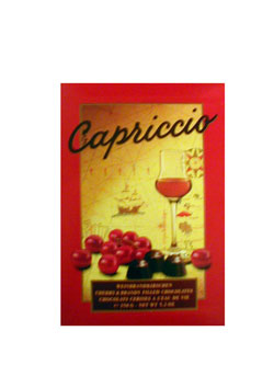 Ukraine Chocolates Ukraine,:Box of chocolate candies Capriccio