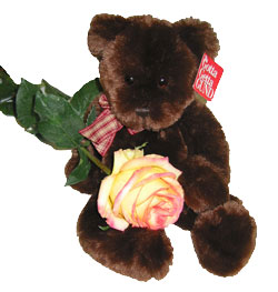 Ukraine Toys Ukraine,:Black Bear and Grand Prix Rose