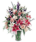 Mozambique Flower Mozambique Florist  Mozambique  Flowers shop Mozambique flower delivery online :Star Gazer Bouquet