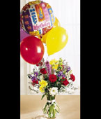 Antigua Birthday Antigua,:Colorburst  Birth Day Arrangement