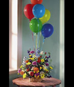 Antigua Congratulations Antigua,:Congrats/Grads Mixed Balloons Bouquet Arrangements