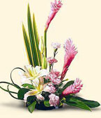 Greece Contemporary Collection Greece,:Ginger and lilies bouquet