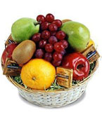 Brazil Christmas Gift Baskets Brazil,,Brazil:Fruit & Chocolate Basket