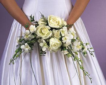 Crescent Wedding Bouquet
